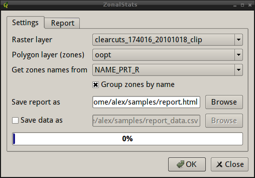 GIS-Lab: Zonal statistics with ZonalStats for QGIS