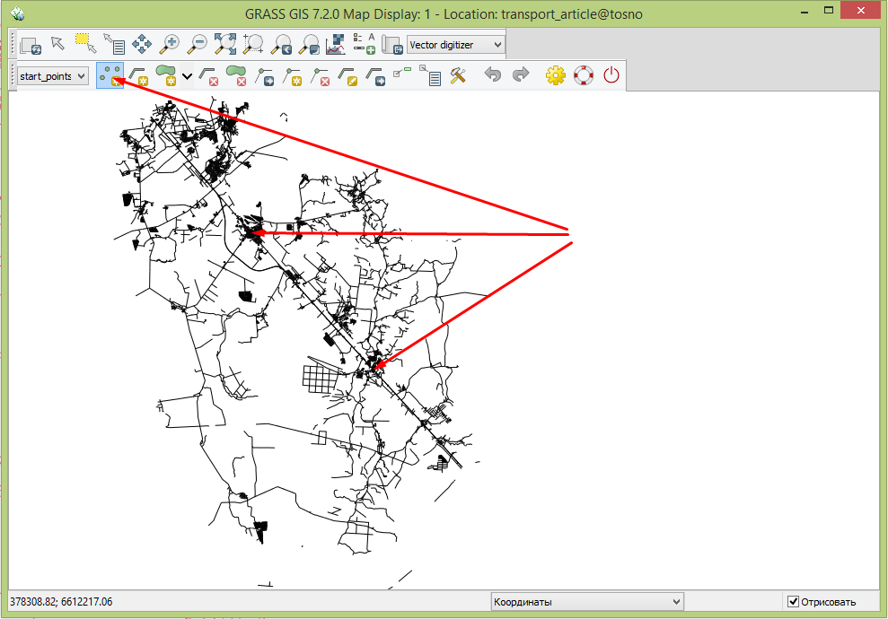 Grass qgis isochrones digit4.png