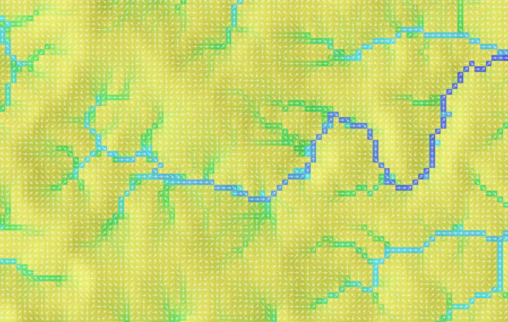 Направления гидрологических потоков