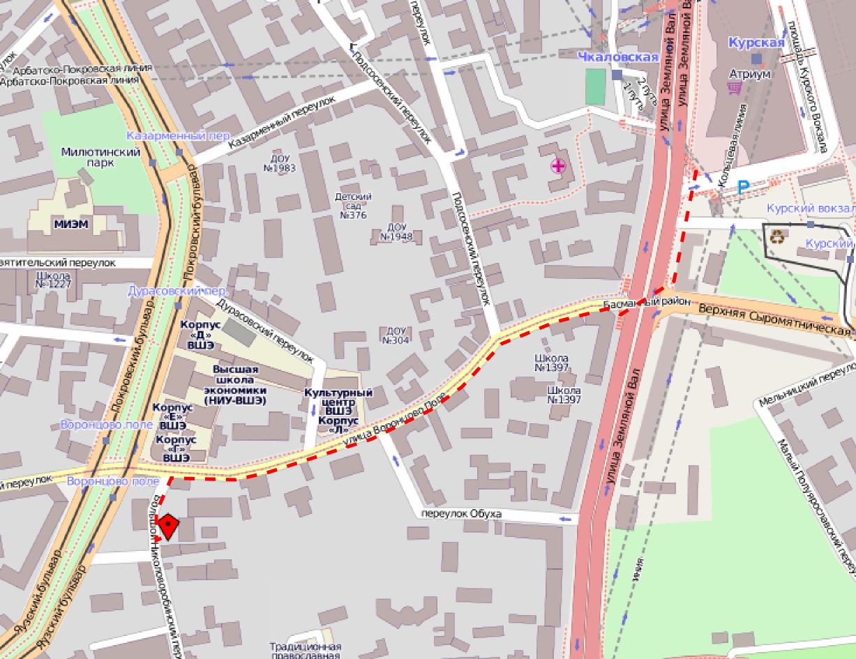 воронцовская дом 8 какое метро рядом