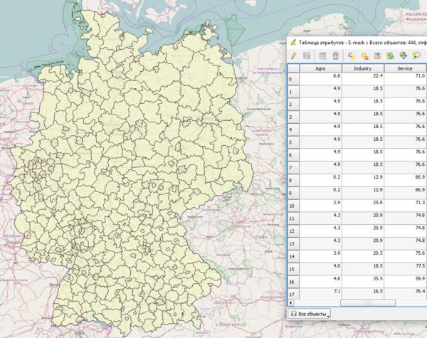Районы Германии